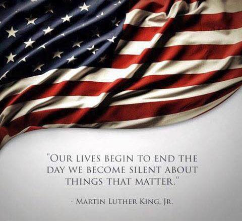 MLK-flag